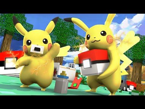 Minecraft: WHO'S YOUR DADDY?! - BEBÊ PIKACHU! (Pokemon)