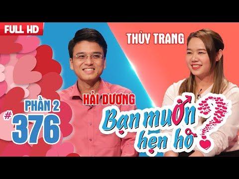 The matchmaker Cat Tuong s the girl how to 'flirt'Hai Dương  Thuy Trang  BMHH 376