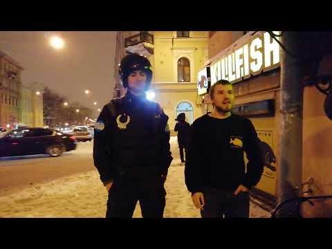 KILLFISH СПб ул. Садовая. Быдло охранник и ЧОП