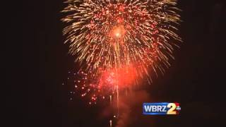 WBRZ Fireworks | Happy Fourth of July | Gordon McKernan Injury Attorneys