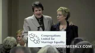 Maryland churches fight in favor of gay marriage at Frederick rally - 1-29-2012