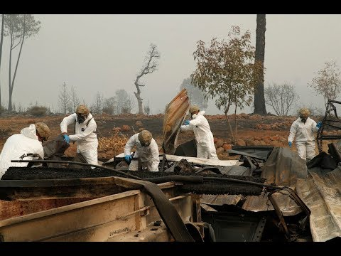 California wildfires: Trump to visit as death toll climbs, 1,000 missing
