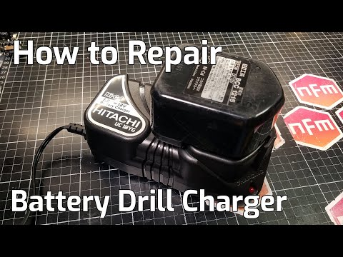 Battery Drill Charger Repair