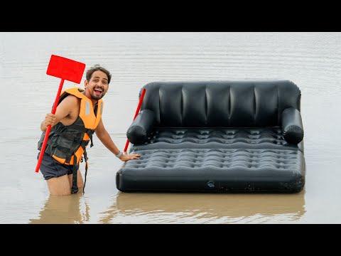 Can We Swim Using Air Sofa - In Water