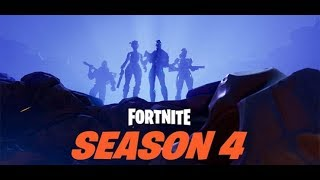 FORTNITE - REACTION TO THE NEW MAP SEASON 4th visit of the new places - SHOPPO THE PASS 4