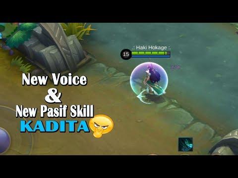 Suara Terbaru Kadita Bahasa Indonesia & Skill Pasif Terbarunya