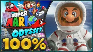 Super Mario Odyssey - Moon Kingdom 100% All Moons & Coins! [🔴LIVE]