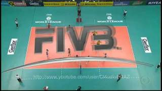 Brazil vs Poland   - FIVB Volleyball World League