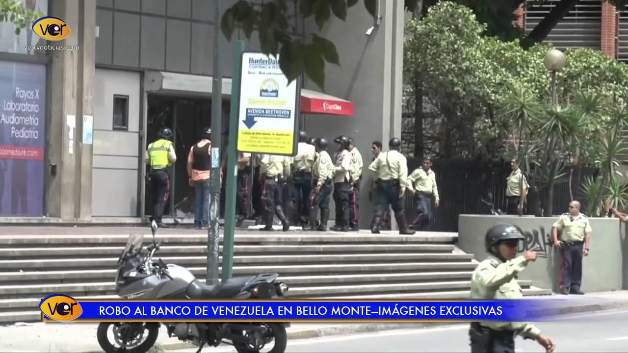 Im genes exclusivas del robo al banco de venezuela youtube for 0banco de venezuela