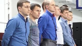 """Награждение футбольных команд """"Локомотив"""""""