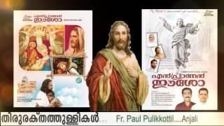 Thiruraktha thullikal | jojo johny | paul pulikootil | super hit malayalam christian devotional song
