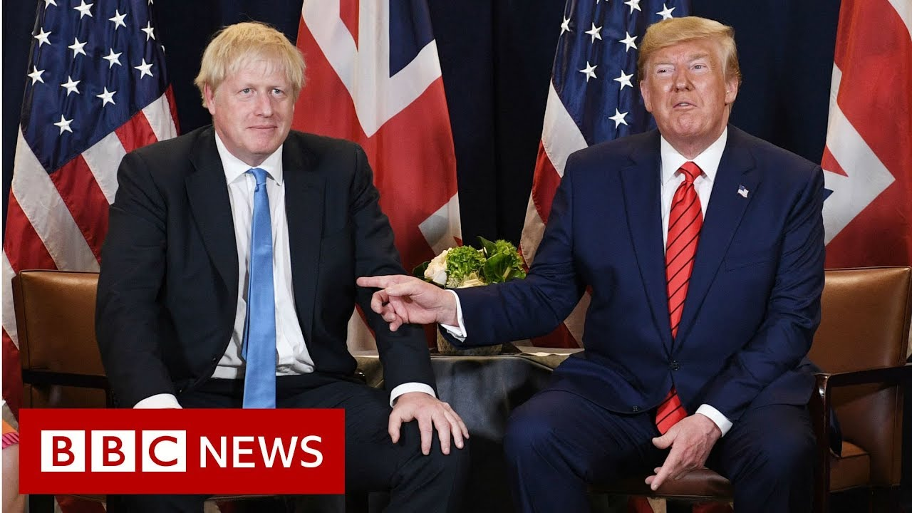 Boris Johnson or Donald Trump: Who's got it worse? - BBC News