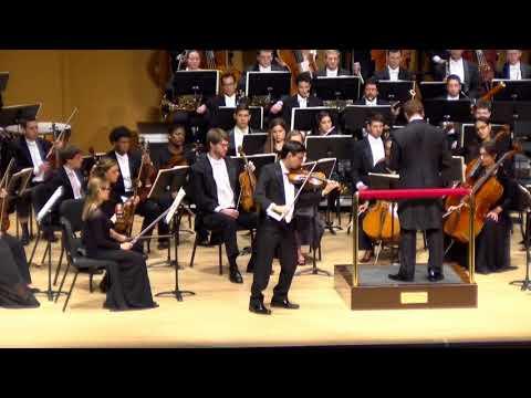 David Brill, Violinist plays Tchaikovsky's Violin with the Lynn University Philharmonic