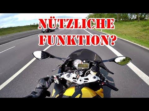 Tempomat Am Motorrad Dunlop Bmw S1000rr Youtube