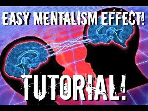Easy to learn Mentalism Effect + Riffle Force (Tutorial)