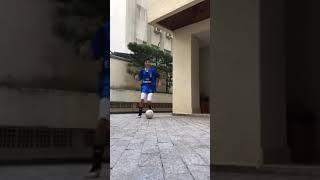 Messi training psg