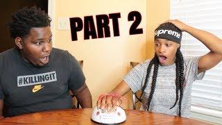 LIE DETECTOR TEST CHALLENGE PART 2!! (HE GOT FREAKY)