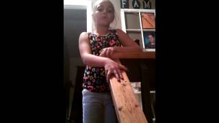 "8 yr old Arianna singing ""Safe and Sound"""