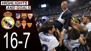 An Important Match That Led Real Madrid To Win La Liga 2016 2017 MP3