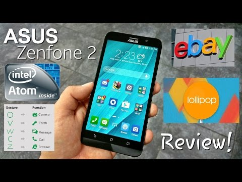 "Asus Zenfone 2 - Full Review - Intel Z3560 64 Bit - 2GB/16GB - Lollipop - 5.5"" HD - 4G LTE - 3000mAh"