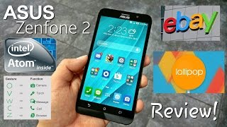 Asus Zenfone 2 - Full Review - Intel Z3560 64 Bit - 2GB/16GB - Lollipop - 5.5