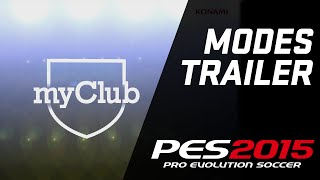 Трейлер режима Мастер Лига и MyClub в PES 2015