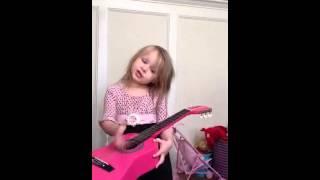 Luli singing Princess/Dragon/Bandaid song