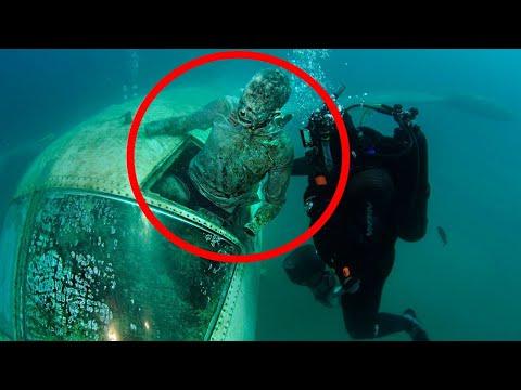 Самые Пугающие Вещи, Обнаруженные на Дне Океана
