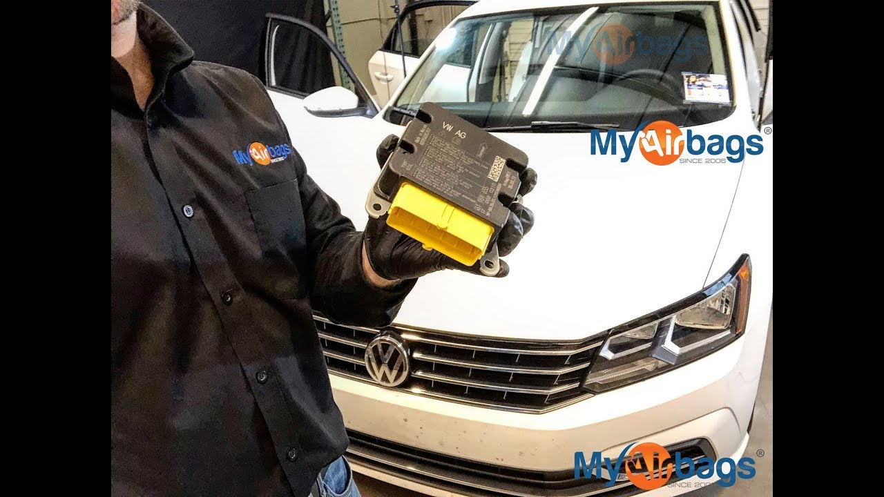 VW PASSAT - AIRBAG SRS MODULE LOCATION & RESET - MyAirbags com