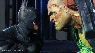 Batman Arkham Origins : Batman vs Bane Final Fight : Defeat TN-1 Bane