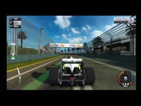 F1 2009 (Wii) Melbourne Grand Prix Circuit