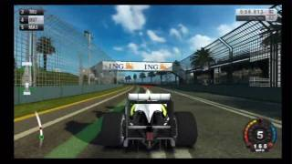 F1 2009 (Wii) Melbourne Grand Prix Circuit