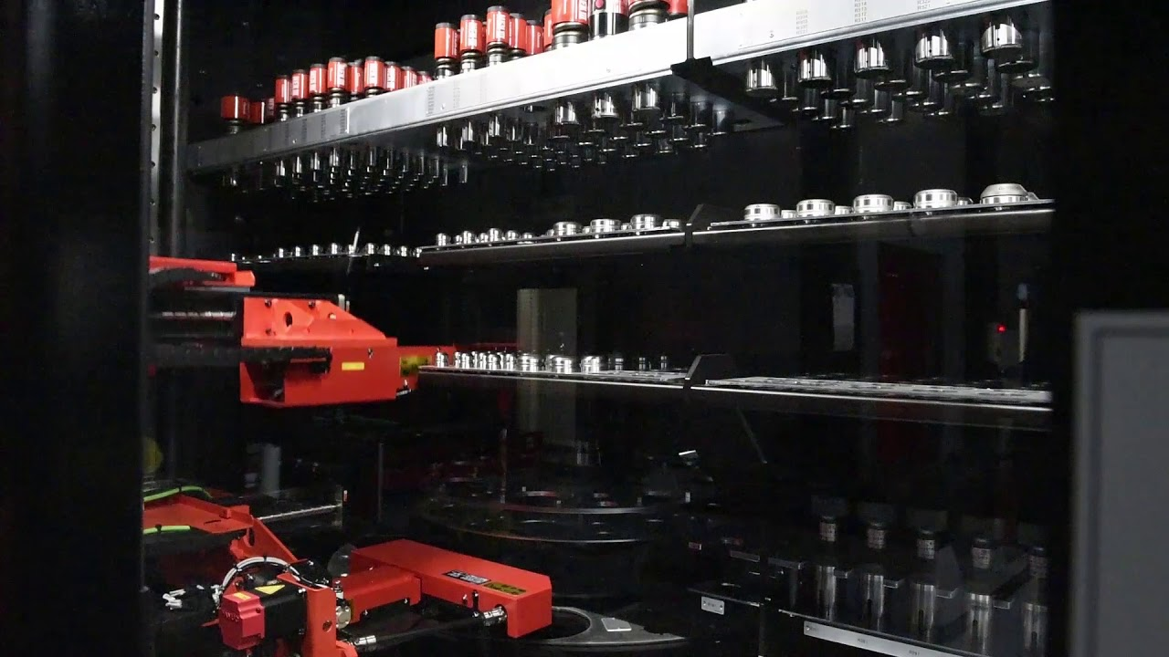 金型自動倉庫の動き