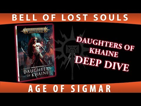 BoLS Deep Dive | Daughters of Khaine Battletome | Age of Sigmar