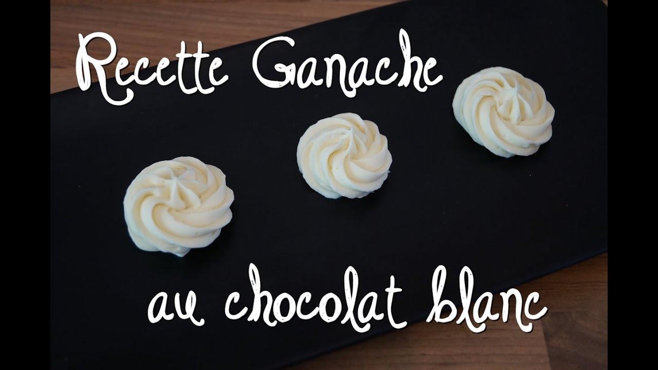 Recette Ganache Chocolat Blanc Cake Design : Ganache chocolat blanc la recette Recipe white chocolate ...