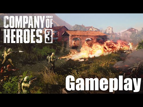 Company of Heroes 3 Gameplay Trailer - An Upcoming Real Time Strategy Game 2021  