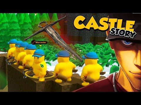Castle Story Crossbowman are better! Conquering the island! | Let's Play Castle Story Gameplay