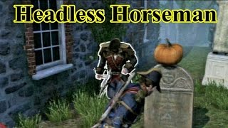 AC: Rogue - Headless Horseman Sleepy Hollow Easteregg