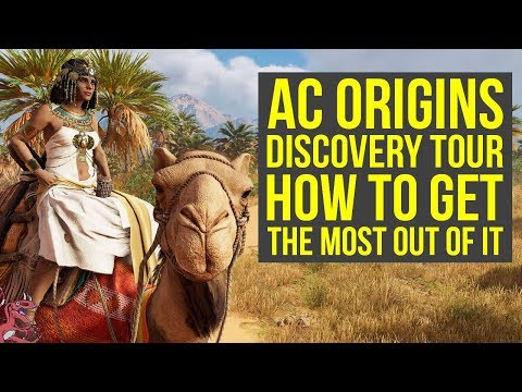 Assassin's Creed Origins Discovery Tour How To Get The MOST OUT OF IT (AC Origins Discovery Tour)