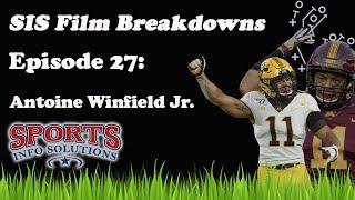 Antoine Winfield Jr Film Breakdown