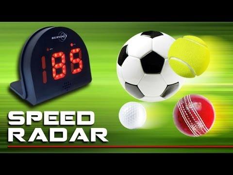 Muti Sport Speed Radar Detector.  Measure speed - improve your game