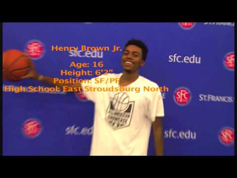 Henry Brown Jr. Basketball Highlights