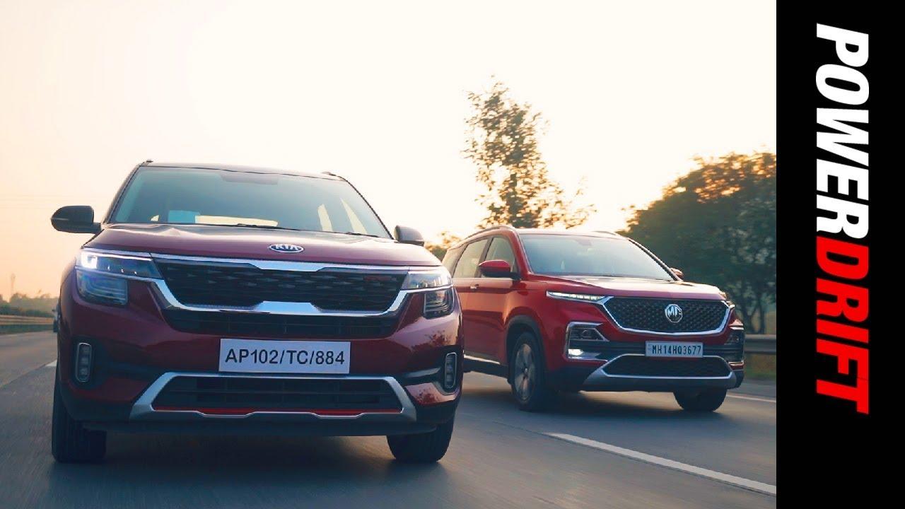 MG Hector gegen Kia Seltos | Autos oder Gadgets? | PowerDrift + video