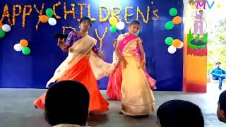 chandamama song dance performance in Dr AKR's INSPIRE School (Childrens Day)