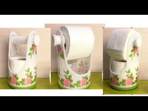 Под туалетную бумагу подставка своими руками