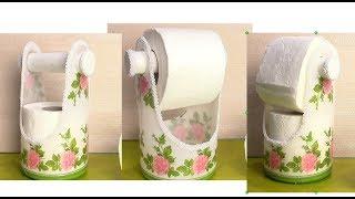 як зробити тримач для туалетного паперу своїми руками