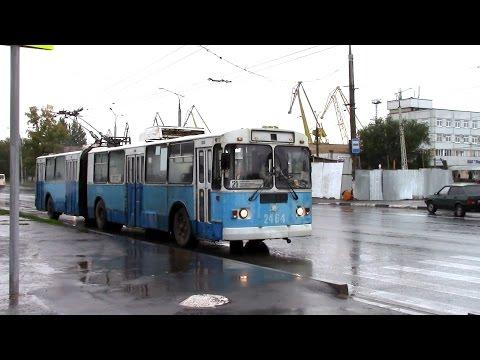 Троллейбус ЗИУ 620520 поездка по 21 маршруту г Тольятти
