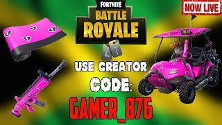 🔴Fortnite Battle Royale (Use Creator Code: GAMER_876 to get NEW Cuddle Hearts Wrap)