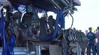Страшная авария под Хабаровском: столкнулись два пассажирских автобуса