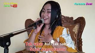 Download lagu KERINDUAN - KARAOKE YUK